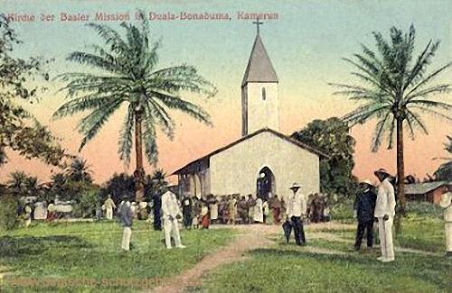 Kamerun, Kirche der Basler Mission in Duala-Bonaduma