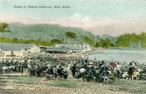 Kamerun, Markt in Victoria