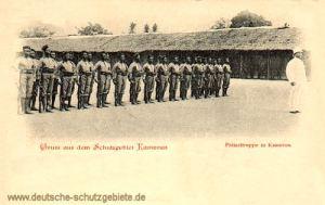 Kamerun, Polizeitruppe