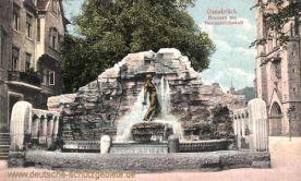 Osnabrück, Brunnen am Herrenteichswall