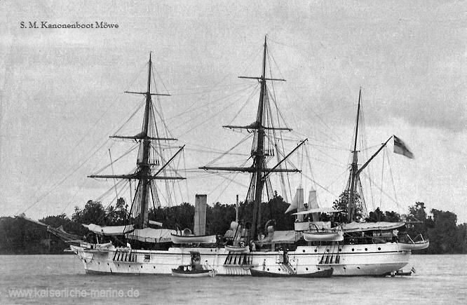 S.M.S. Möwe, Kanonenboot der Kaiserlichen Marine