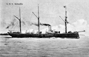 S.M.S. Schwalbe, Kleiner ungeschützter Kreuzer der Kaiserlichen Marine