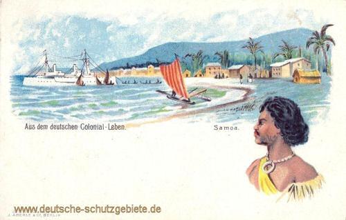 Samoa, Aus dem deutschen Colonial-Leben