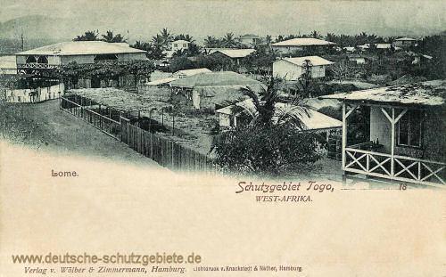 Schutzgebiet Togo, Lome