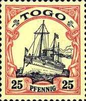 Togo 25 Pfennig, 1900