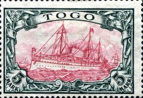 Togo 5 Mark, 1900