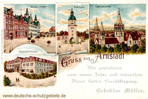 Gruss aus Arnstadt