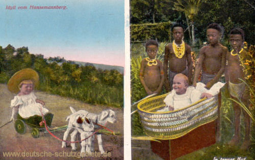 Deutsch-Neu-Guinea, Idyll vom Hansemannberg
