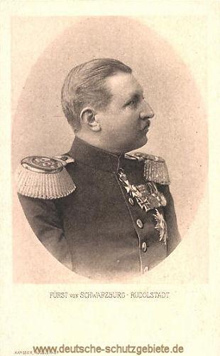 Fürst von Schwarzburg-Rudolstadt