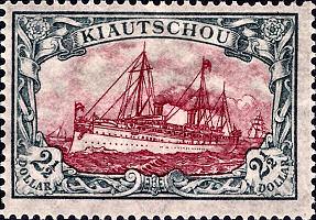 Kiautschou 2 1/2 Dollar, 1905