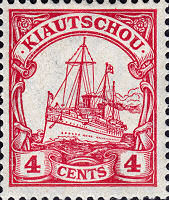 Kiautschou 4 Cents, 1905