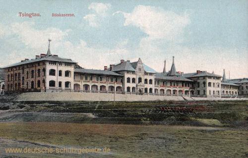 Kiautschou, Tsingtau, Iltiskaserne