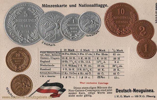 Deutsch-Neuguinea, Neuguinea-Mark