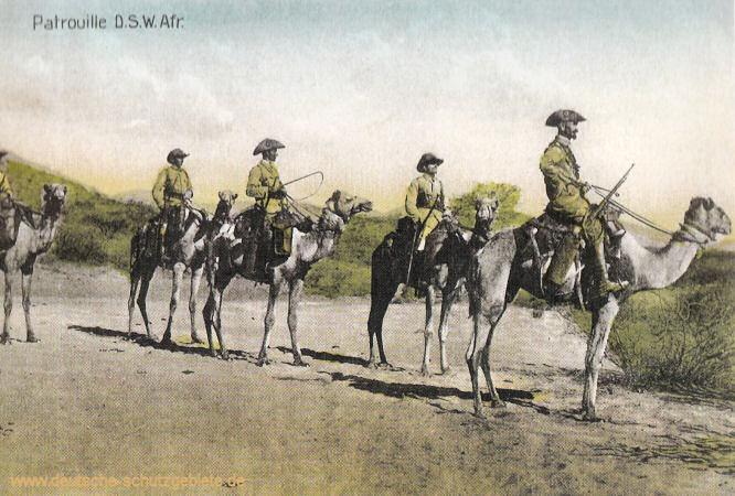 Patrouille Deutsch-Südwest-Afrika