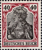 40 Pfennig, Germania 1902