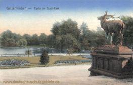 Gelsenkirchen, Partie am Stadt-Park