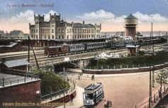 Hamm i. W., Bahnhof