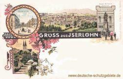 Iserlohn, Kaiser-Wilhelm-Denkmal, Kaiserplatz, evangelische Kirche