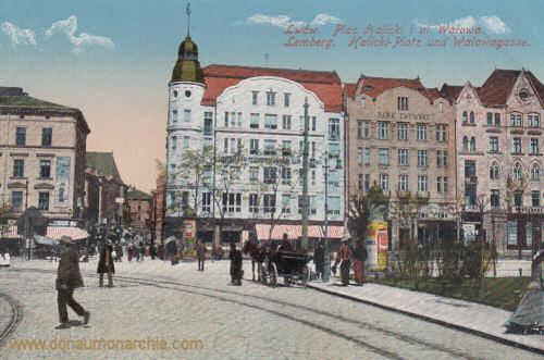 Lemberg, Halicki-Platz und Walowagasse