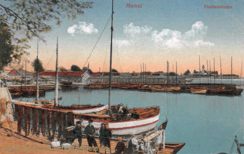 Memel, Fischereihafen