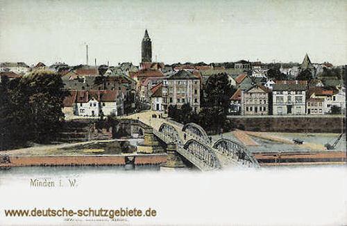Minden i. W., Weserbrücke