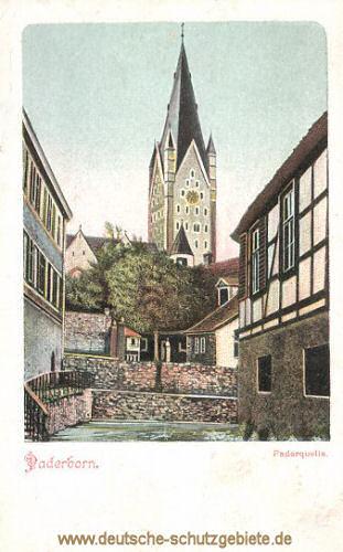 Paderborn, Paderquelle
