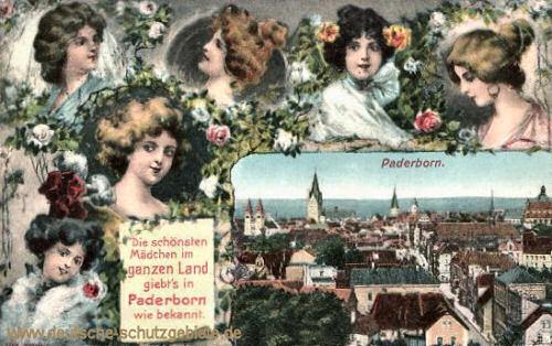 Paderborn, die schönsten Mädchen...