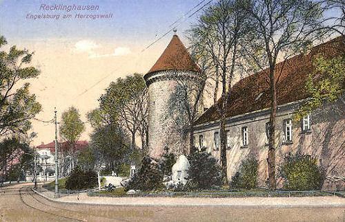 Recklinghausen, Engelsburg am Herzogswall