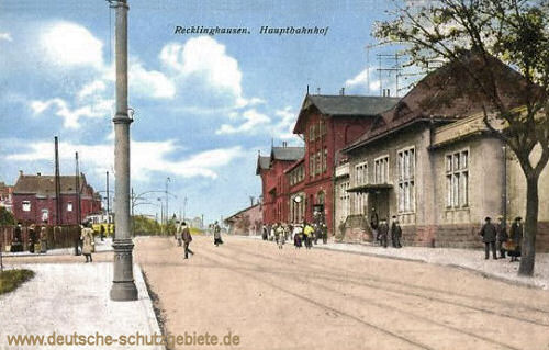 Recklinghausen, Hauptbahnhof
