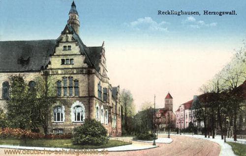 Recklinghausen, Herzogswall
