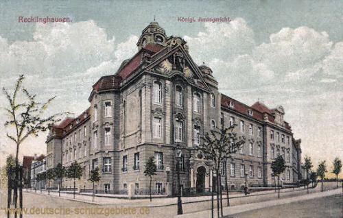 Recklinghausen, Königliches Amtsgericht