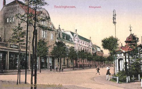 Recklinghausen, Königswall