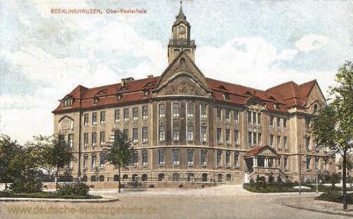 Recklinghausen, Ober-Realschule