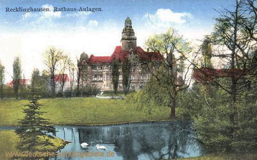 Recklinghausen, Rathausanlagen