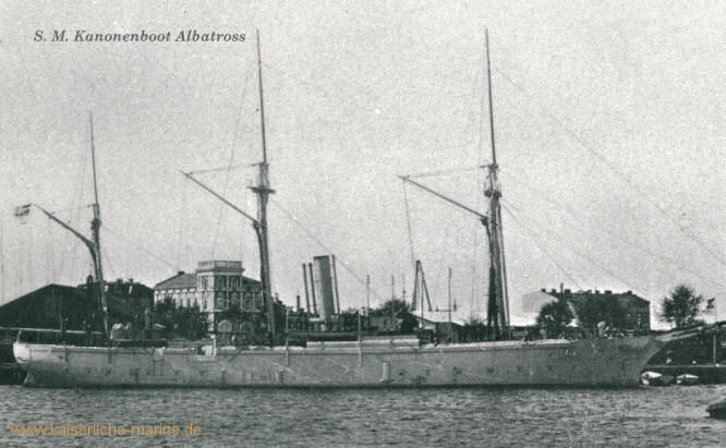 S.M.S. Albatross, Kanonenboot