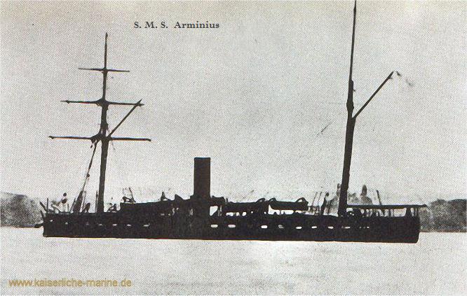 S.M.S. Arminius, Monitor