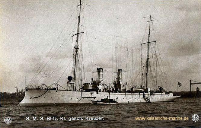 S.M.S. Blitz, Aviso