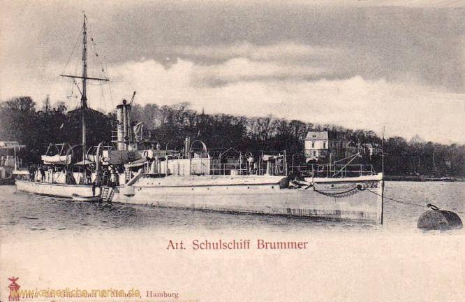 S.M.S. Brummer, Panzerkanonenboot