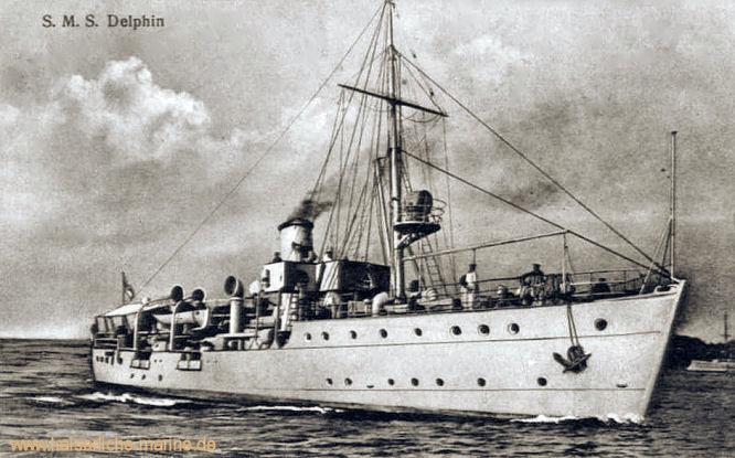 S.M.S. Delphin, Tender