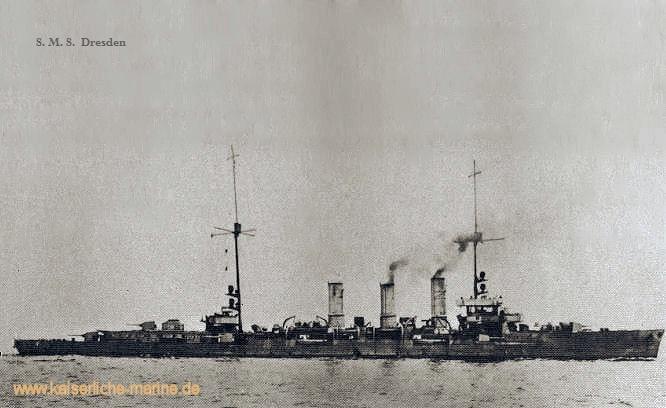 S.M.S. Dresden, Kleiner Kreuzer 1917