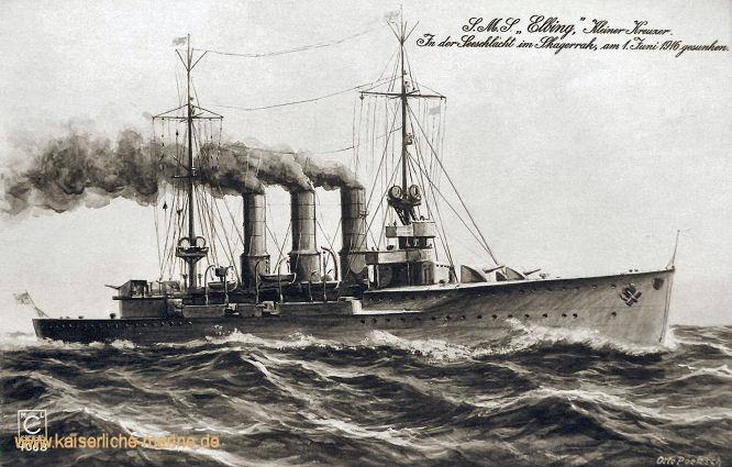 S.M.S. Elbing, Kleiner Kreuzer