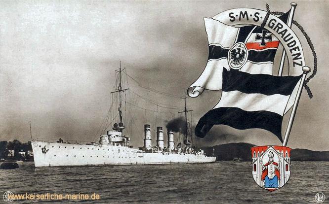 S.M.S. Graudenz, Kleiner Kreuzer