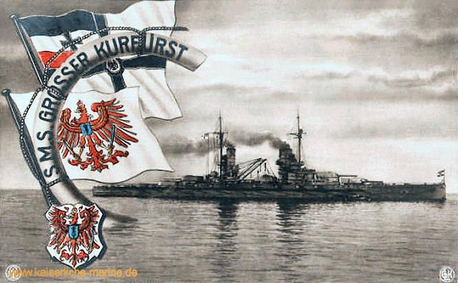 S.M.S. Großer Kurfürst, Linienschiff