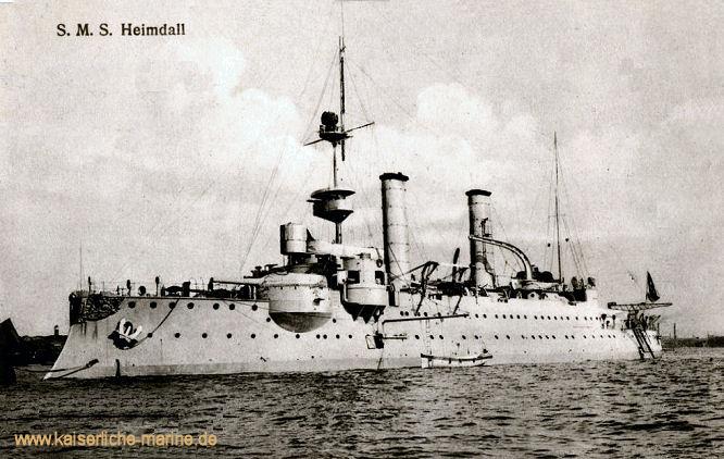 S.M.S. Heimdall, Küstenpanzerschiff