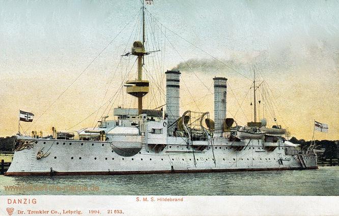S.M.S. Hildebrand, Küstenpanzerschiff