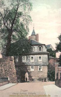 Siegen, Oberes Schloss, Südseite