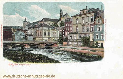 Siegen, Siegbrücke
