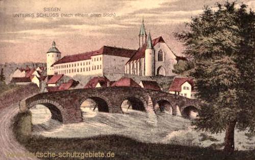 Siegen, Unteres Schloss