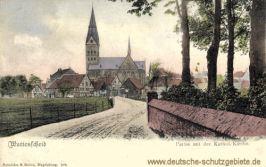 Wattenscheid, Partie an der Katholischen Kirche