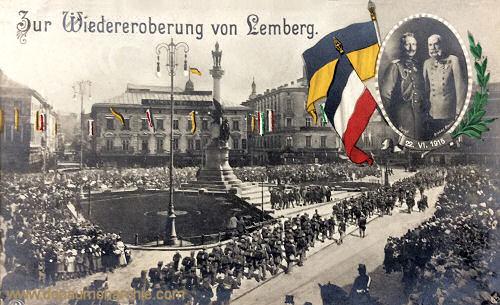 Zur Wiedereroberung von Lemberg (1915)